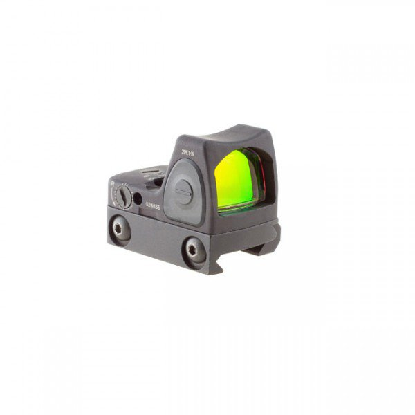 Trijicon RMR Adjustable LED Sight RM06 & Picatinny Mount - 3.25 MOA Red Dot