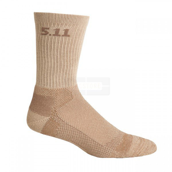 5.11 Level I 6 Inch Socks - Coyote