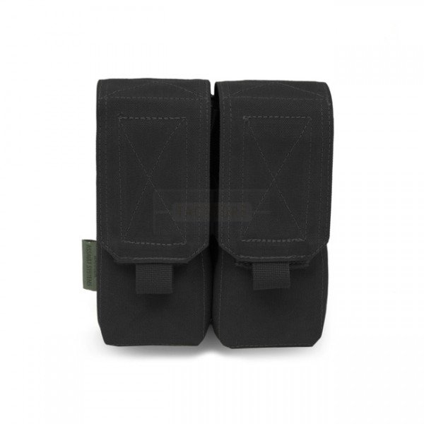 Warrior Double M4 Magazine Pouch - Black