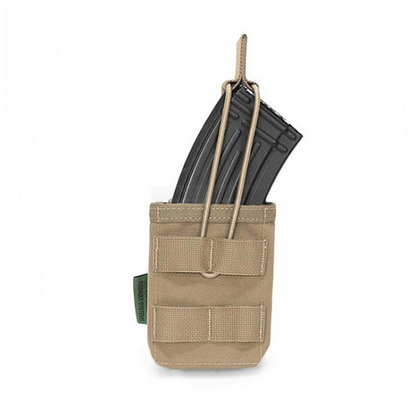 Warrior Single AK / SIG 550 Open Magazine Pouch - Coyote