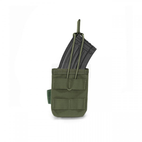 Warrior Single AK / SIG 550 Open Magazine Pouch - Olive