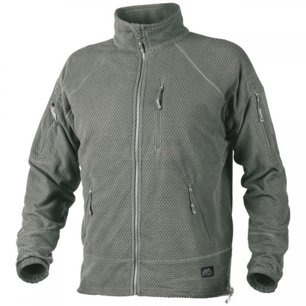 Helikon Alpha Tactical Grid Fleece Jacket - Foliage