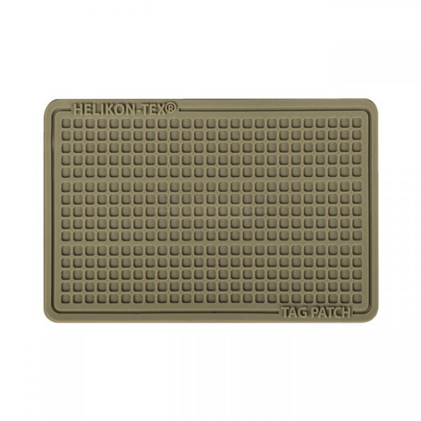 Helikon PVC Tag Patch Set 60x40mm - Coyote