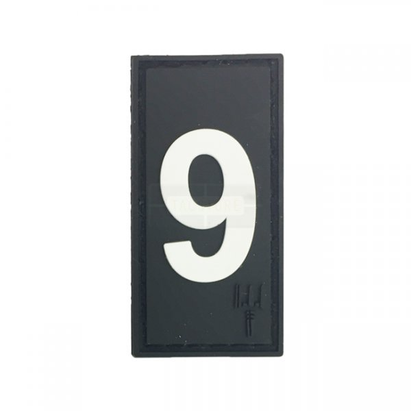 Pitchfork Number 9 Patch - Black