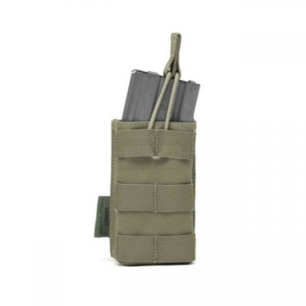Warrior Single M4 Open Magazine Pouch - Ranger Green