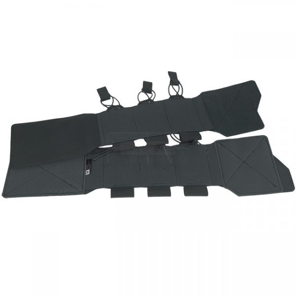 Templar TPC Tactical Plate Carrier Elastic Cummerbund & Pouches - Black