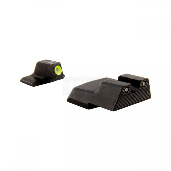 Trijicon HK110Y H&K Night Sight Set - Yellow Front Outline