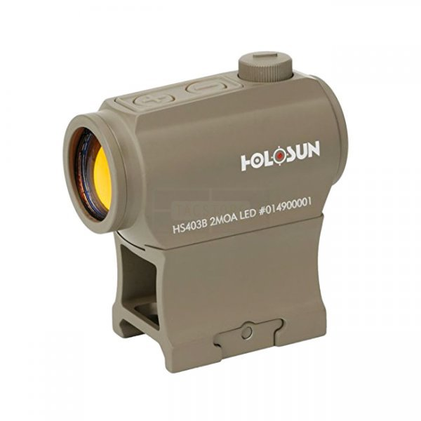 Holosun HS403B Red Dot Sight - Dark Earth