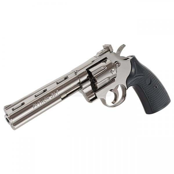 Blackcat Mini Model Gun 357 Magnum Python - Dark Chrome