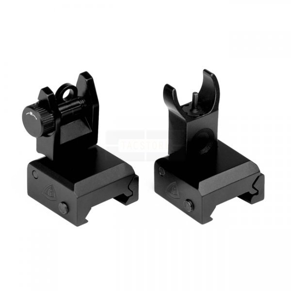 Trinity Force Flip-Up Front & Rear Sight Set - Black