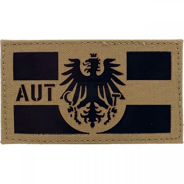 Pitchfork Austria IR Cordura Patch - Coyote