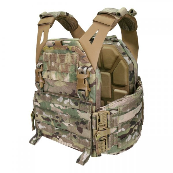 Warrior Low Profile Carrier Solid Sides  - Multicam