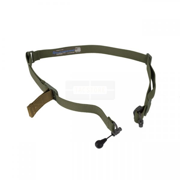 Blue Force Gear Vickers 221 Sling Unpadded RED Swivel - Olive