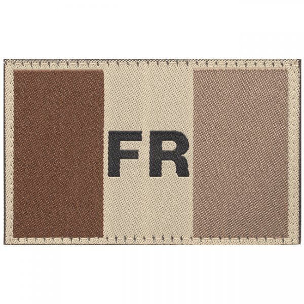 Clawgear France Flag Patch - Desert