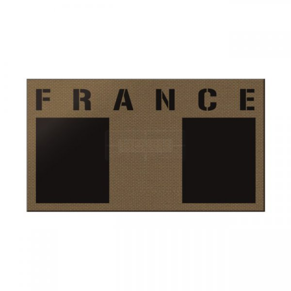 Pitchfork France IR Print Patch - Coyote