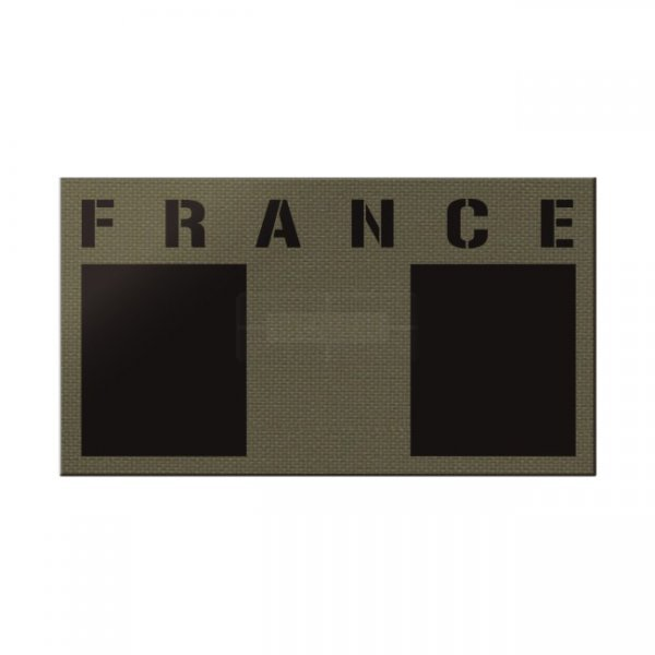 Pitchfork France IR Print Patch - Ranger Green