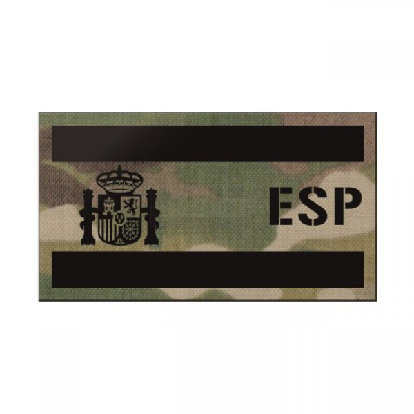 Pitchfork Spain IR Print Patch - Multicam