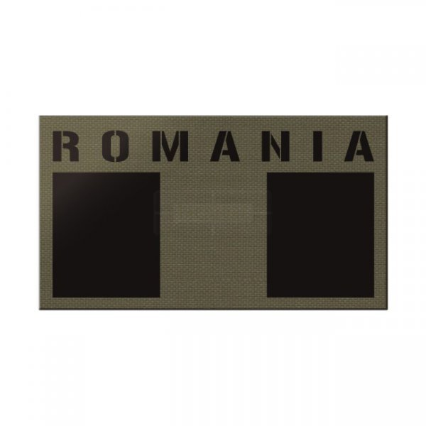 Pitchfork Romania IR Print Patch - Ranger Green