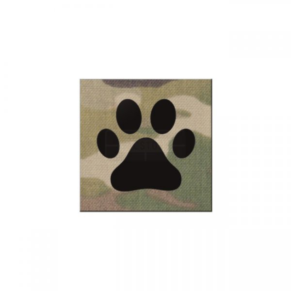 Pitchfork K9 IR Square Print Patch - Multicam