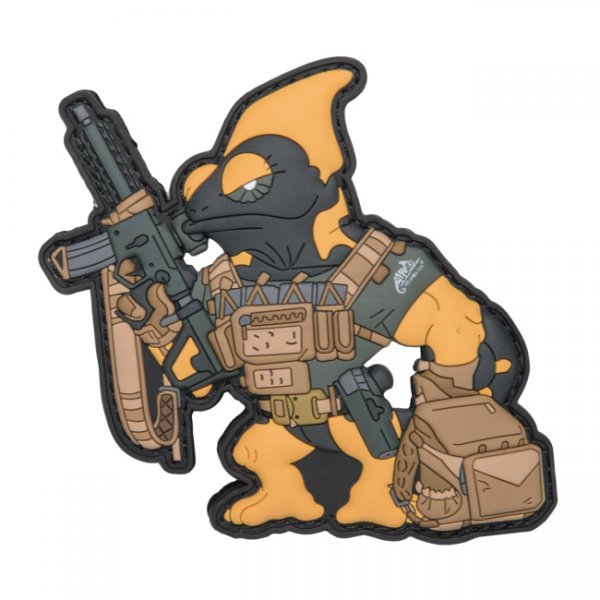 Helikon Chameleon Firearm Instructor Patch - Black / Yellow A