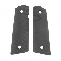 Strike Industries CNC 1911 Polymer Pistol Grips - Sunrise Pattern / Matte Black
