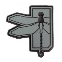 Haley Strategic Dragonfly PVC Patch - Grey