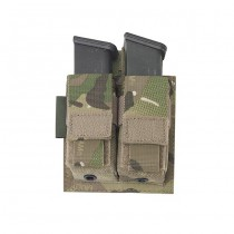 Warrior Double 9mm Pistol Magazine Pouch - Multicam