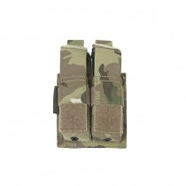 Warrior Double 9mm Pistol Magazine Pouch - Multicam 1