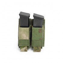 Warrior Double 9mm Pistol Magazine Pouch - A-Tacs FG