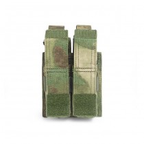 Warrior Double 9mm Pistol Magazine Pouch - A-Tacs FG 1
