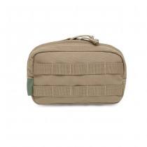 Warrior Medium Horizontal Utility Pouch - Coyote