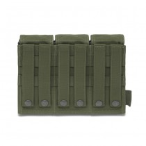 Warrior Triple M4 Magazine Pouch - Olive 1
