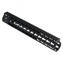 Strike Industries AR Mega Fins 12 Inch Light Weight KeyMod Handguard Gen2 - Black