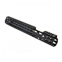 Strike Industries AR Mega Fins 13.5 Inch FSP Light Weight KeyMod Handguard Gen2 - Black
