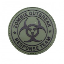 Pitchfork Zombie Outbreak Patch - Olive