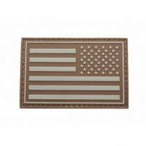 Pitchfork US Right IFF Flag Patch - Tan