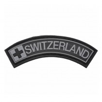 Pitchfork Switzerland Tab Patch - Black