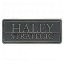 Haley Strategic Brand Disruptive PVC Patch - Grey