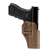 BLACKHAWK CQC Matte Finish SERPA Holster Glock 17/22/31 RH - Coyote