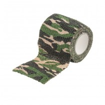 Camo Cotton Tape - Woodland