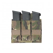 Warrior Triple 9mm Pistol Magazine Pouch - Multicam