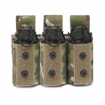 Warrior Triple 40mm Grenade Pouch - Multicam