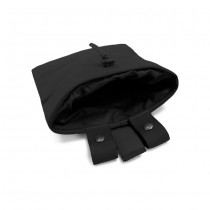 Warrior Large Roll Up Dump Pouch - Black 1