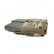 Warrior Double Elastic Magazine Pouch - Multicam 3