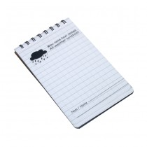 All-weather notebook MEMO
