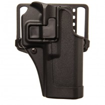 BLACKHAWK CQC Matte Finish SERPA Holster CZ 75 RH - Black
