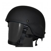 Pitchfork MICH Level IIIA Infantry Helmet - Black