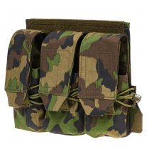 Pitchfork TPC Tactical Plate Carrier Panel 3x2 AR Closed - SwissCamo