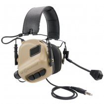 Earmor M32 MOD3 Tactical Hearing Protection Ear-Muff - Coyote Tan