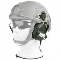 Earmor M31H MOD3 Hearing Protection Ear-Muff Helmet Version - Foliage Green